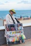 Vietnamesisk gatuförsäljare Royaltyfria Bilder