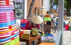 Vietnamesisk handel fotografering för bildbyråer