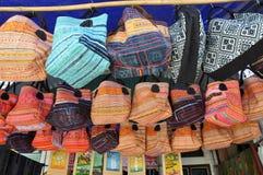 Vietnamesisk lantlig marknad i Bac Ha, Sapa, Vietnam Royaltyfria Bilder
