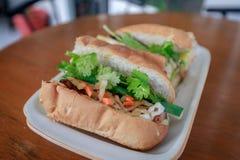 Vietnamesisk smörgåsbanh mi Royaltyfri Fotografi