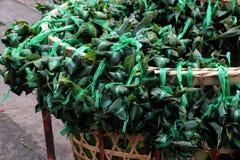Vietnamesisk traditionell mat, tro för banh u Royaltyfria Foton