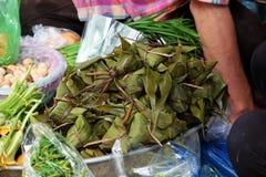 Vietnamesisk traditionell mat, tro för banh u Fotografering för Bildbyråer