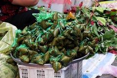 Vietnamesisk traditionell mat, tro för banh u Arkivfoto