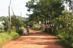 Vietnamesisk väg royaltyfria bilder