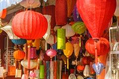 vietnamesiska härliga lyktor Fotografering för Bildbyråer