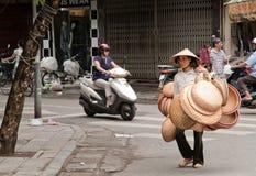 vietnamesiska hattar Royaltyfri Bild