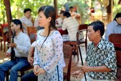 Vietnamesiska musiker Arkivfoton
