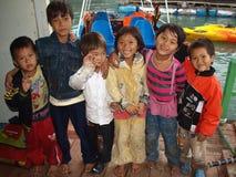 Vietnamesiska skolbarn Fotografering för Bildbyråer