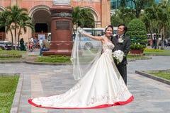 Vietnamesiskt bröllop Royaltyfria Foton