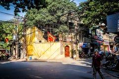 Vietnamesiskt gataliv av Ho Chi Minh City Vietnam royaltyfri foto