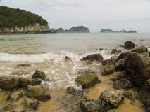 Vietnamesiskt hav royaltyfria bilder