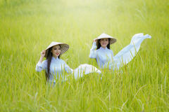Vietnamg girl, freedom, The promotion of tourism. Vietnamg girl, Hanoi, freedom, The promotion of tourism stock photography