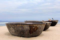 Vietnamian boulfartyg för att fiska Royaltyfri Bild