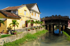 Vietnamise old architecture Royalty Free Stock Photo