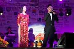 Vietnamita famosa MC Fotografie Stock