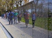 Vietnamkrieg-Denkmal Lizenzfreies Stockbild