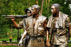 Vietnamkrieg-Denkmal Stockfotografie