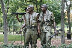 Vietnamkrieg-Denkmal Stockbilder