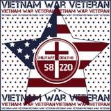 Vietnamkriget dagminne Arkivbild