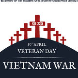 Vietnamkriget dagminne Arkivfoto