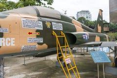 Vietnamkrigetkvarlevamuseum royaltyfria foton