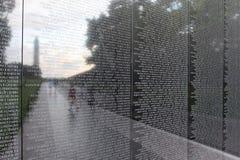 Vietnamkrigetminnesmärke Arkivfoto