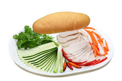 Vietnamse Sandwich royalty free stock image