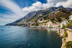 Vietri Sul sto - Salerno, Campania, Italien, Europa arkivfoto