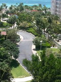 Vieuw do hotel Aruba do marriot Foto de Stock