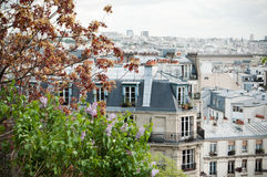 Vieuw from Montmartre Royalty Free Stock Photos