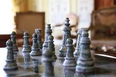 Vieux échecs Image libre de droits