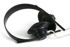 Vieux écouteurs Photos stock