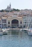 Vieux-λιμένας, Μασσαλία, Γαλλία στοκ εικόνα