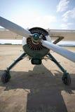 Vieux aéronefs au sol Photo stock