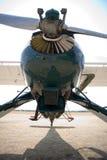 Vieux aéronefs au sol Photographie stock