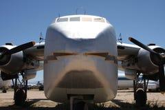 Vieux aéronefs de cargaison Images libres de droits