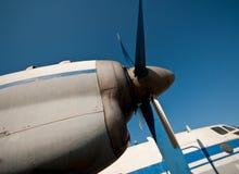 Vieux aéronefs de propulseur Photographie stock