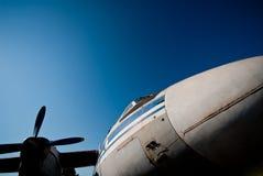 Vieux aéronefs de propulseur Image stock