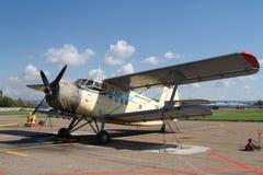 Vieux aéronefs du Russe AN-2 Photo libre de droits