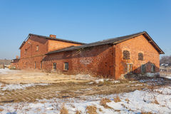Vieux, abandonné et oublié bâtiment Image stock