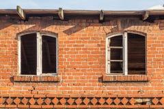 Vieux, abandonné et oublié bâtiment Photos stock