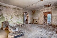 Vieux, abandonné et oublié bâtiment Image libre de droits