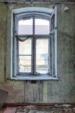 Vieux, abandonné et oublié bâtiment Photo libre de droits