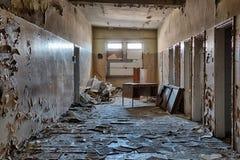 Vieux, abandonné et oublié bâtiment Photographie stock