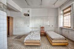 Vieux, abandonné et oublié bâtiment Photo stock