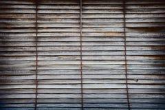 Vieux abat-jour d'hublot en bois Images libres de droits