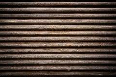 Vieux abat-jour faits de bois Image stock