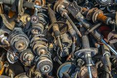 Vieux amortisseurs de voiture Photos libres de droits