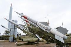 Vieux anti missiles d'aéronefs Photo stock