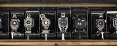 Vieux appareils-photo Image libre de droits